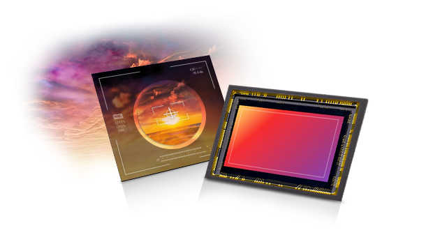 A clear sunset captured in a CMOS image sensor